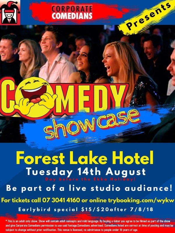 Corporate Comedian Showcase