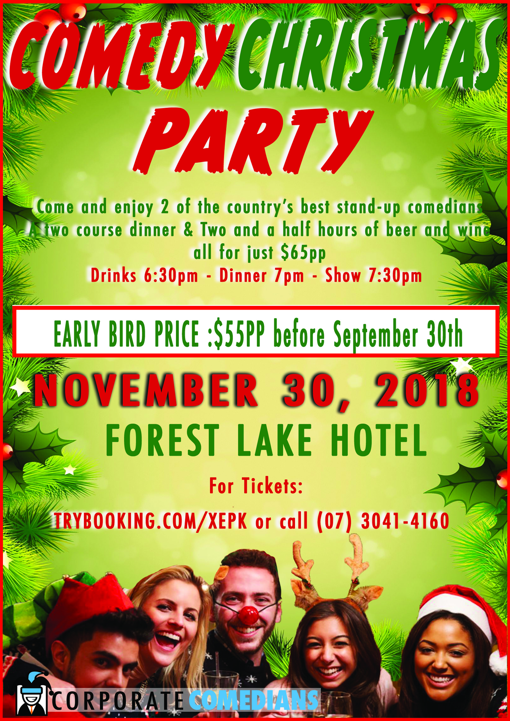 Comedy Christmas Party