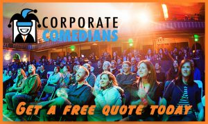 People Laughing - Corporate Comedian