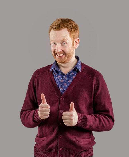 Australian Comedian Luke Mcgregor